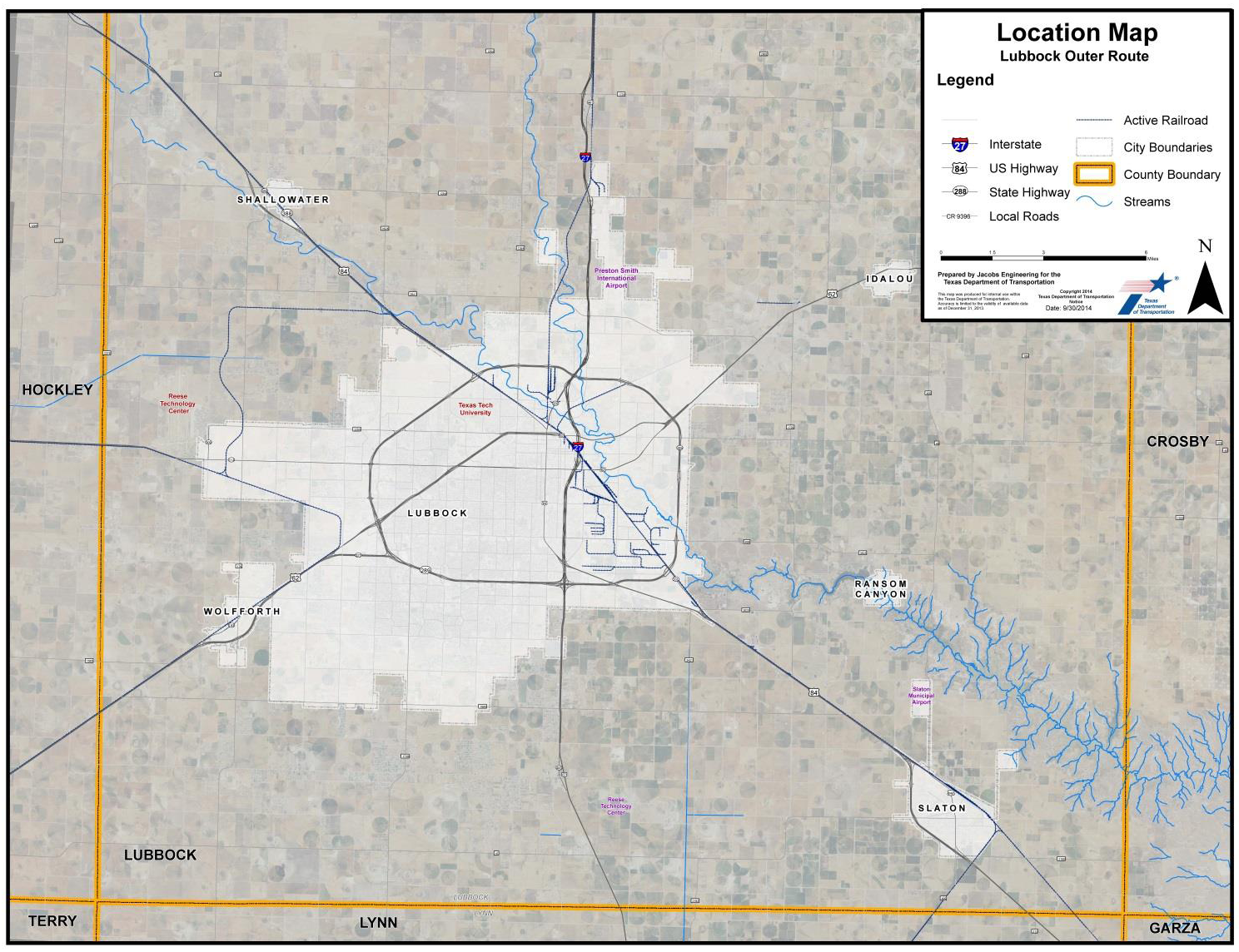 Highway Network North And East Of Us 87 Therefore The North And Eastern Portions Of The Loop Concept Were Eliminated From Further Discussion